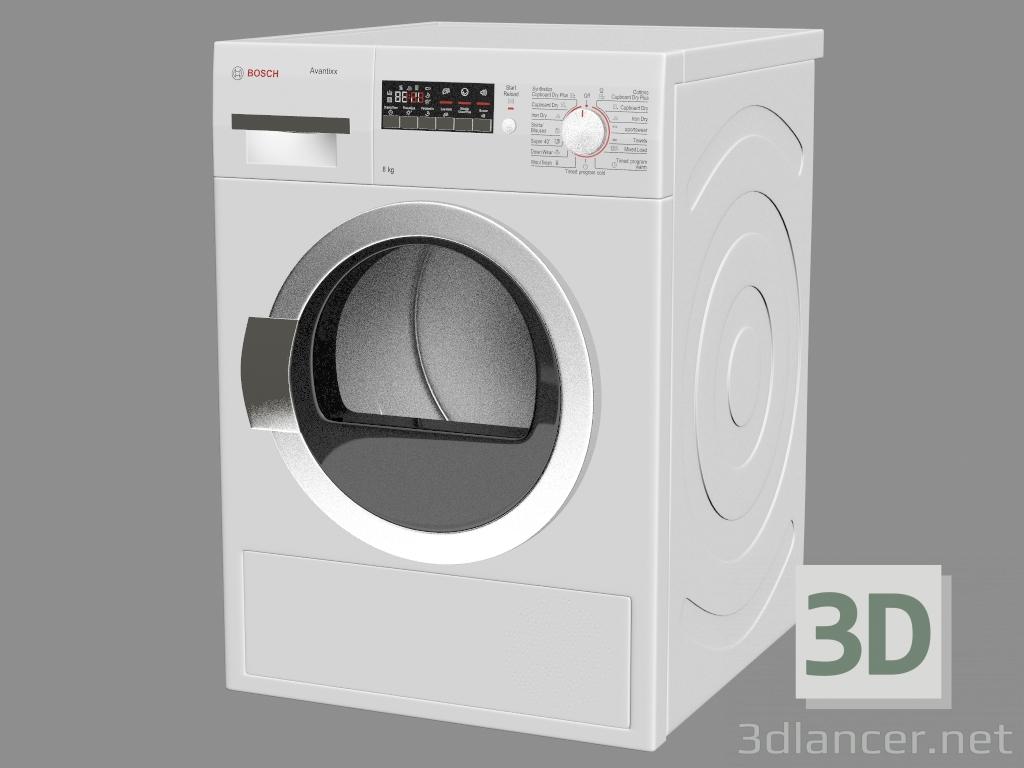 3 डी मॉडल सुखाने कक्ष WTW86200AU - पूर्वावलोकन