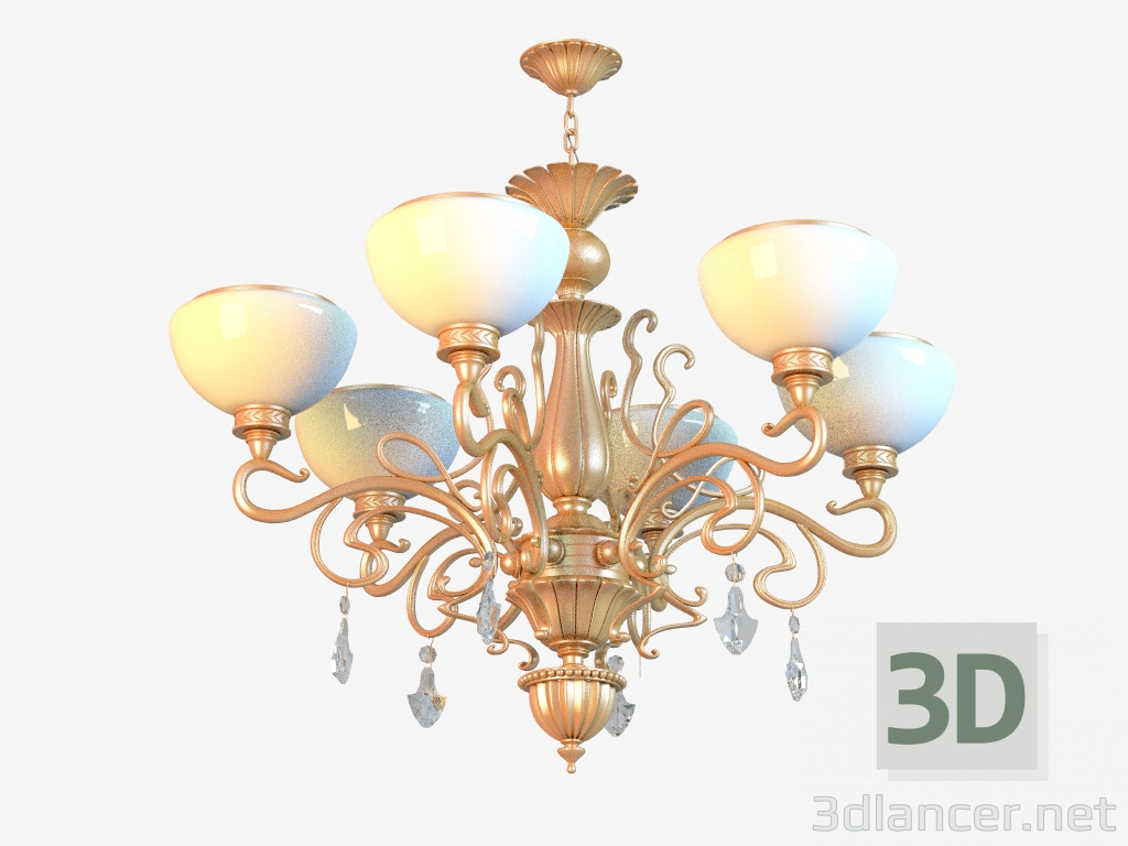 3d model Chandelier 481010506 - preview