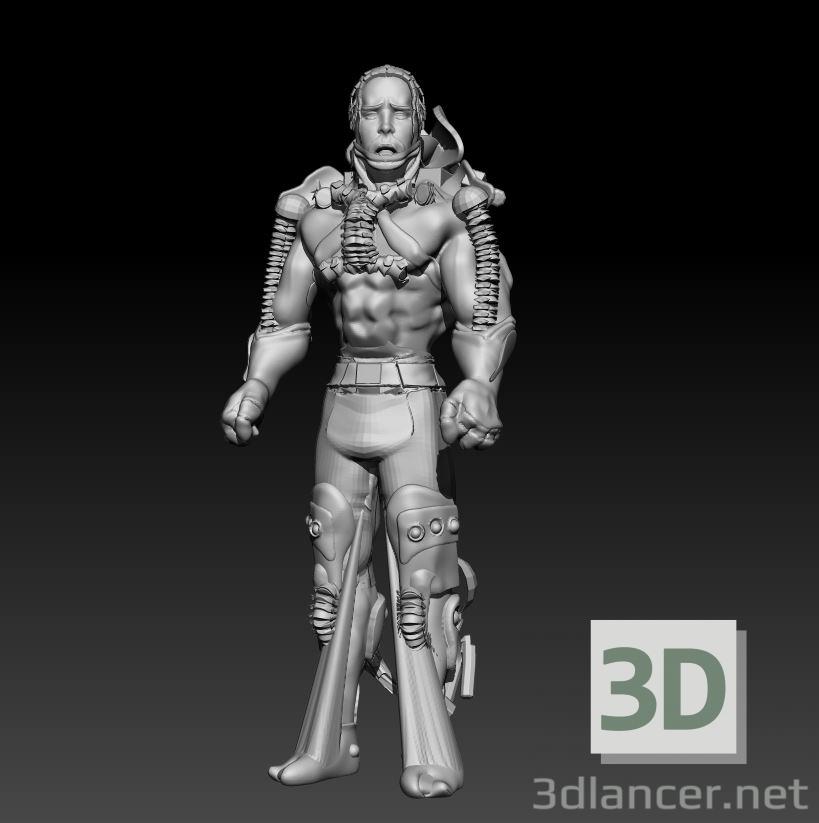 3 डी साईबोर्ग मॉडल खरीद - रेंडर