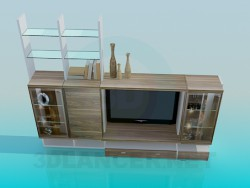 Cabinet in the living room
