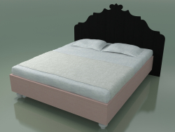 Double bed (80 Е, Black)