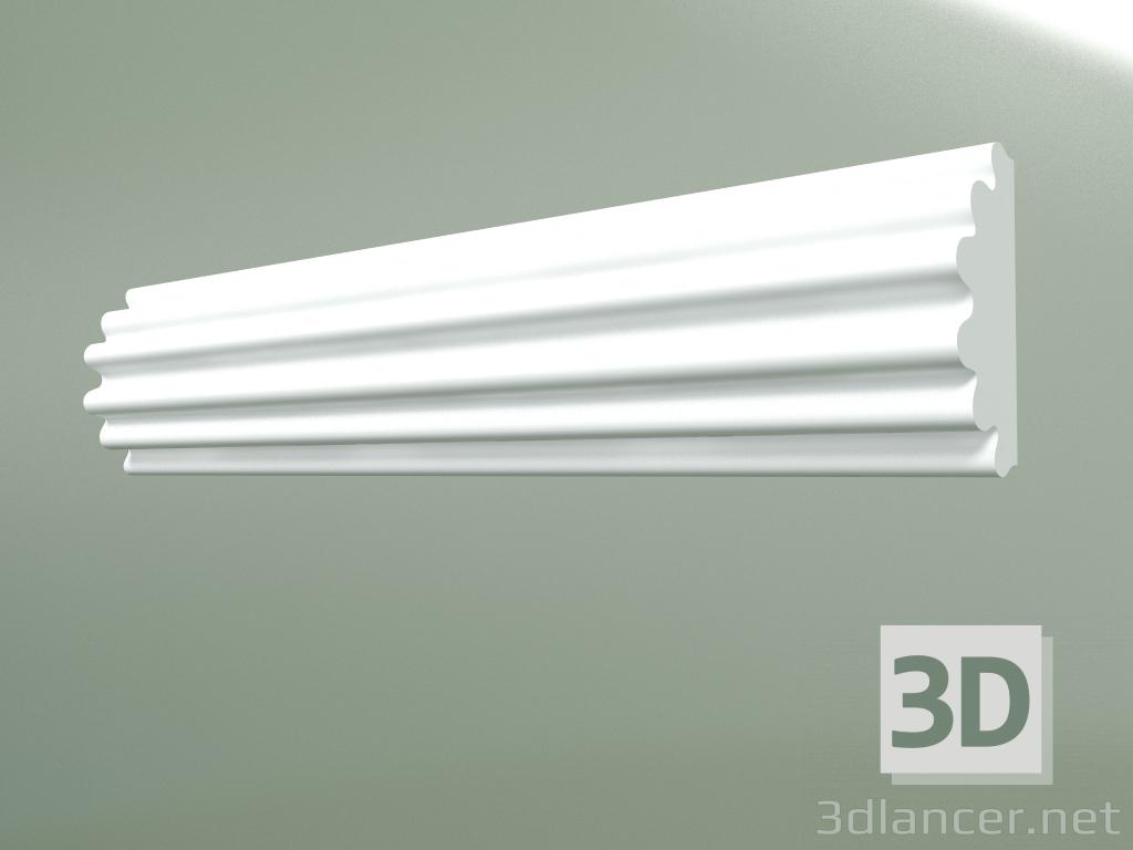 3d model Plaster molding MT159 - preview