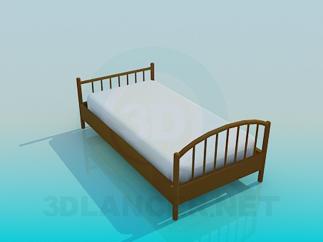 3d моделирование Кровать для ребенка модель скачать бесплатно