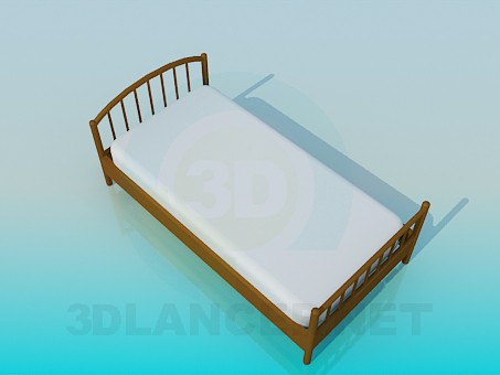 3d model Bed for child - preview