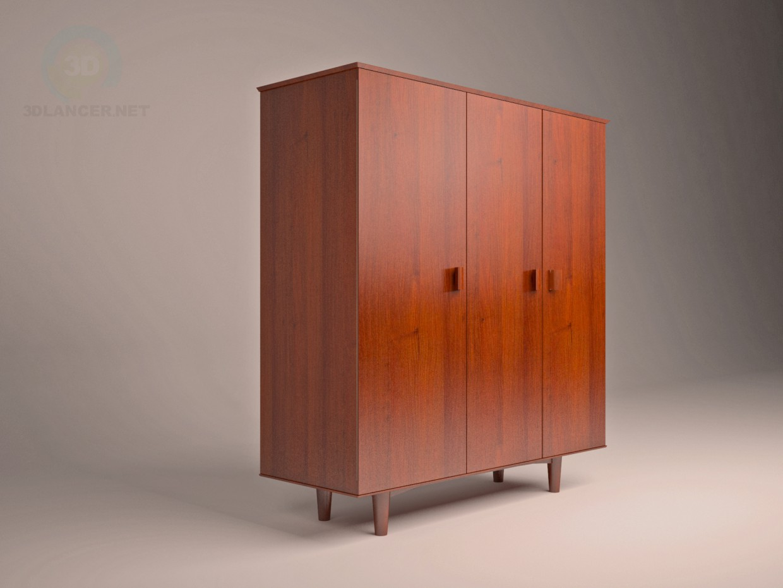 3d model cabinet USSR - preview