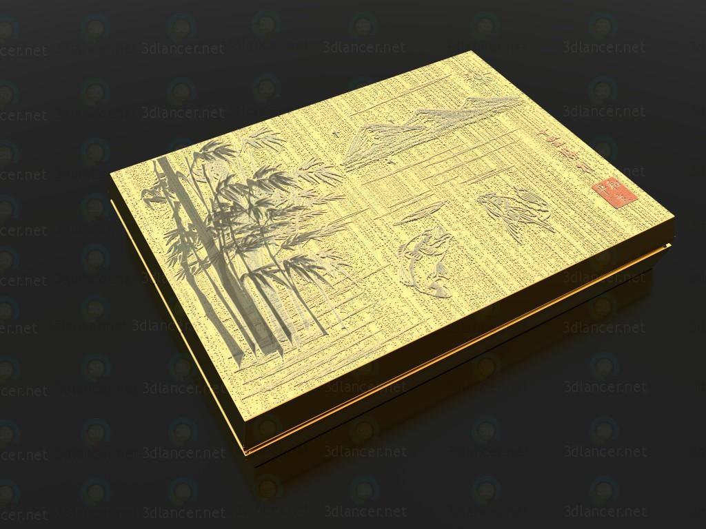 3d model Cigar-case - preview