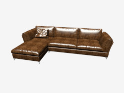 Sofa Bahia with chaise longue