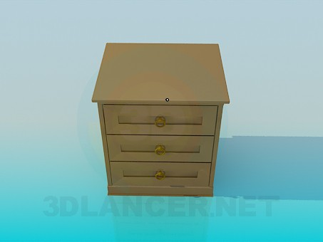 3d modeling Nightstand model free download
