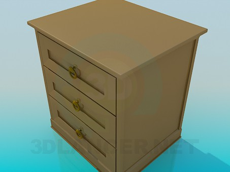3d model Nightstand - preview