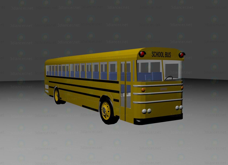 3d model Thomas Saf-T-Liner School Bus - preview