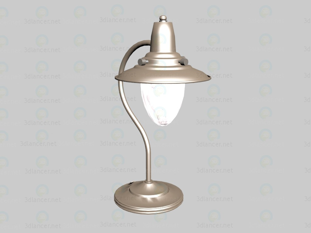 3d модель Лампа для письменного стола Fisherman – превью