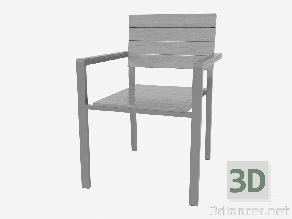 3d Model Chair (bright)   Preview