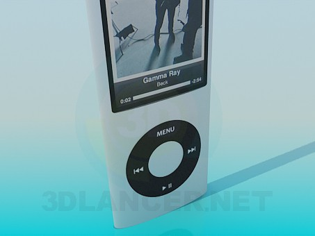 3d model Ipod - preview