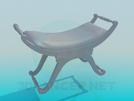 3d model Original stool - preview