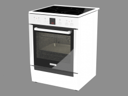 Electric cooker HCE 744223 R (85x60x60)