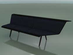 Модуль кутовий тримісний Waiting 4510 (90 ° лівий, Black)
