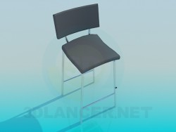 High chair with legs