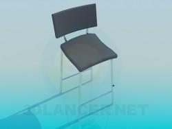 Chaise haute avec jambes
