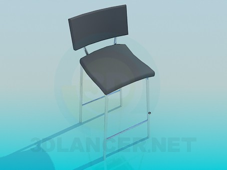 3d modeling High chair with legs model free download