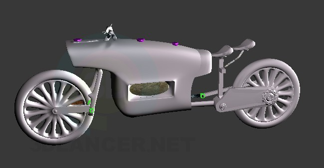 3d model moto - preview