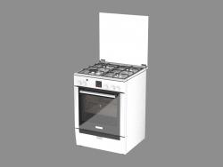 Cocina de gas HGG 245255 R (85x60x60)