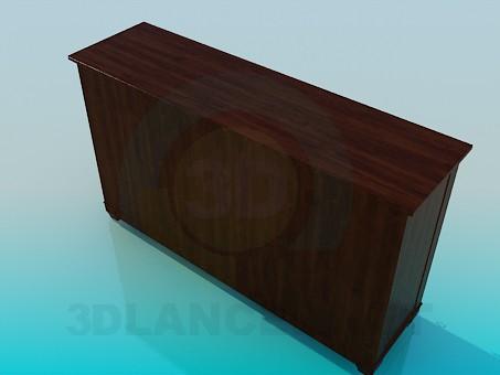 modelo 3D Silla con orinal - escuchar
