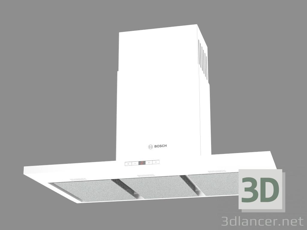3d моделирование Настенная вытяжка DWB091E51A модель скачать бесплатно