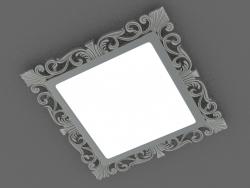 LED panel (DL18153 3000-Antique silver SQ)