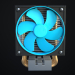 3d model Processor Cooler - preview