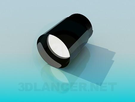 3d model Lens thread - preview