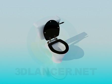 descarga gratuita de 3D modelado modelo Taza del inodoro