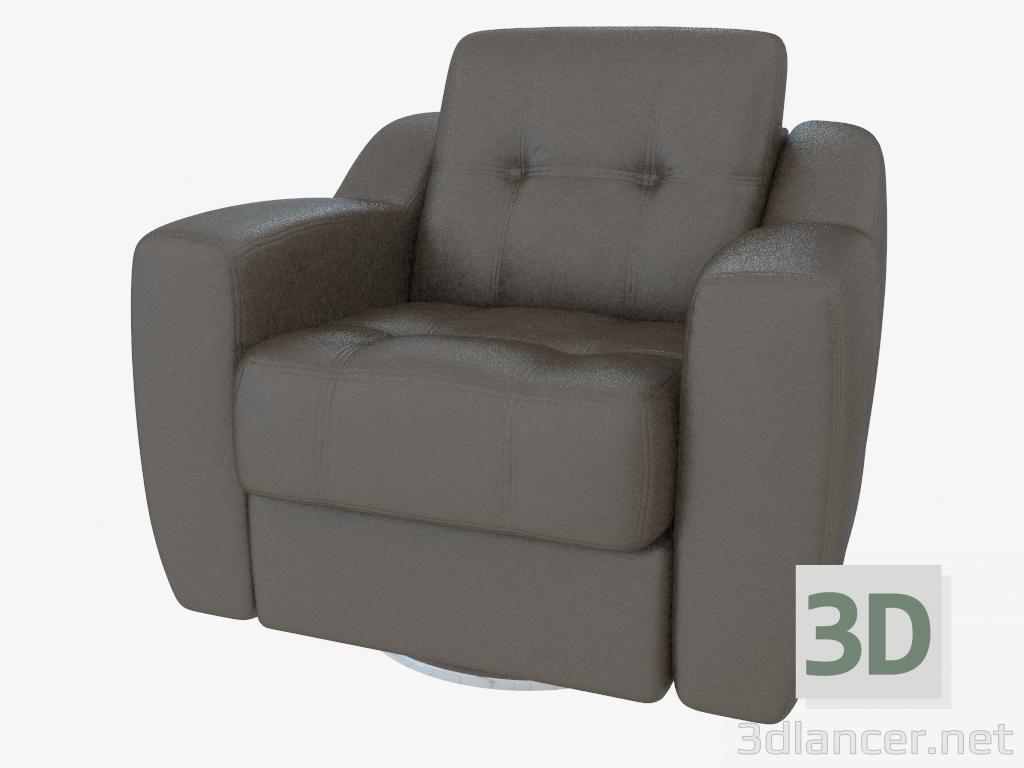 Modelo 3d poltrona de couro mobel zeit max 2013 gr tis for Poltrona 3d