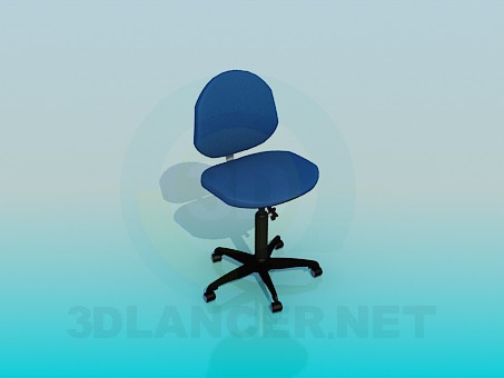 3d model Chair for computer's table - preview