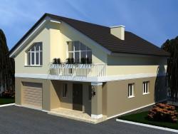 İki katlı ev