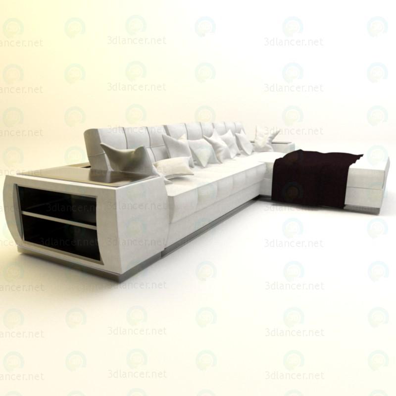 3d Диван для гостиной 2 модель купить - ракурс