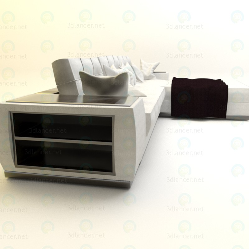 3d Диван для вітальні 2 модель купити - зображення