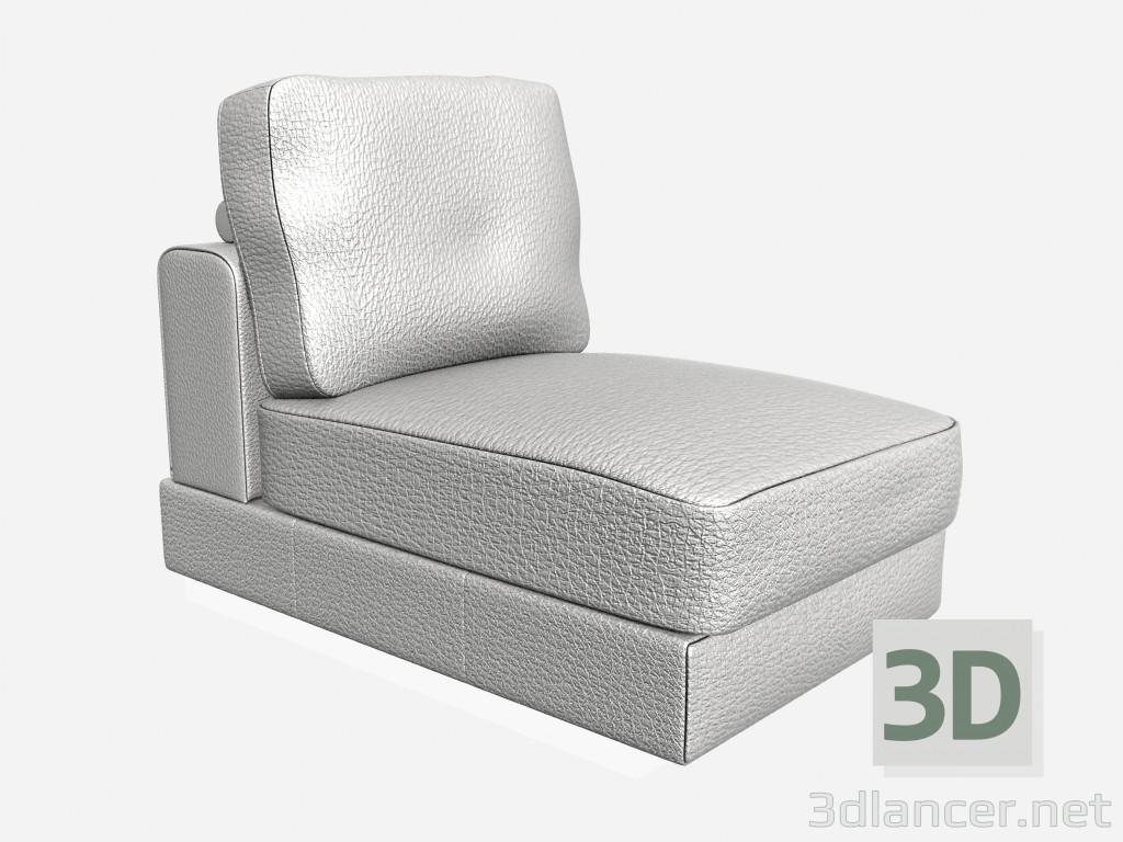 descarga gratuita de 3D modelado modelo Albinoni asiento 76 cm pequeño Albinoni 1 asiento pequeño cm 76