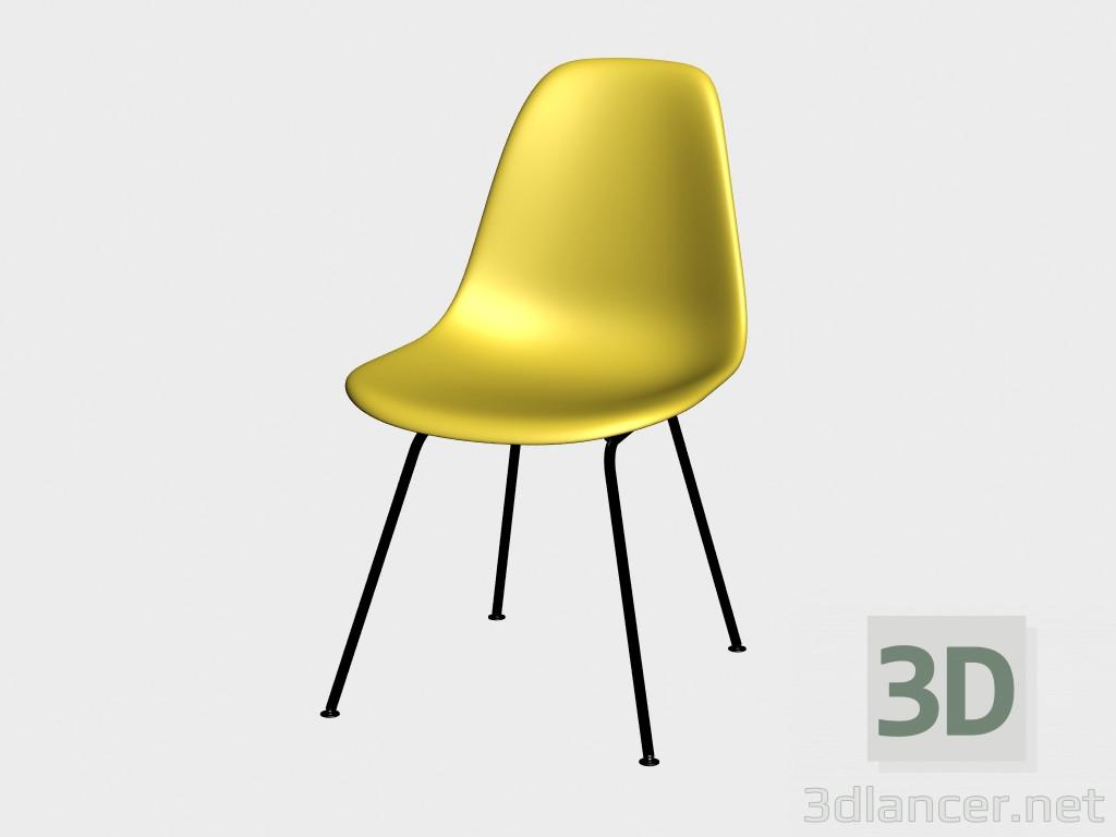 d model silla eames silla lateral plstica dsx vista previa