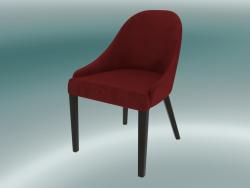 Mezza sedia Edgar (rosso)