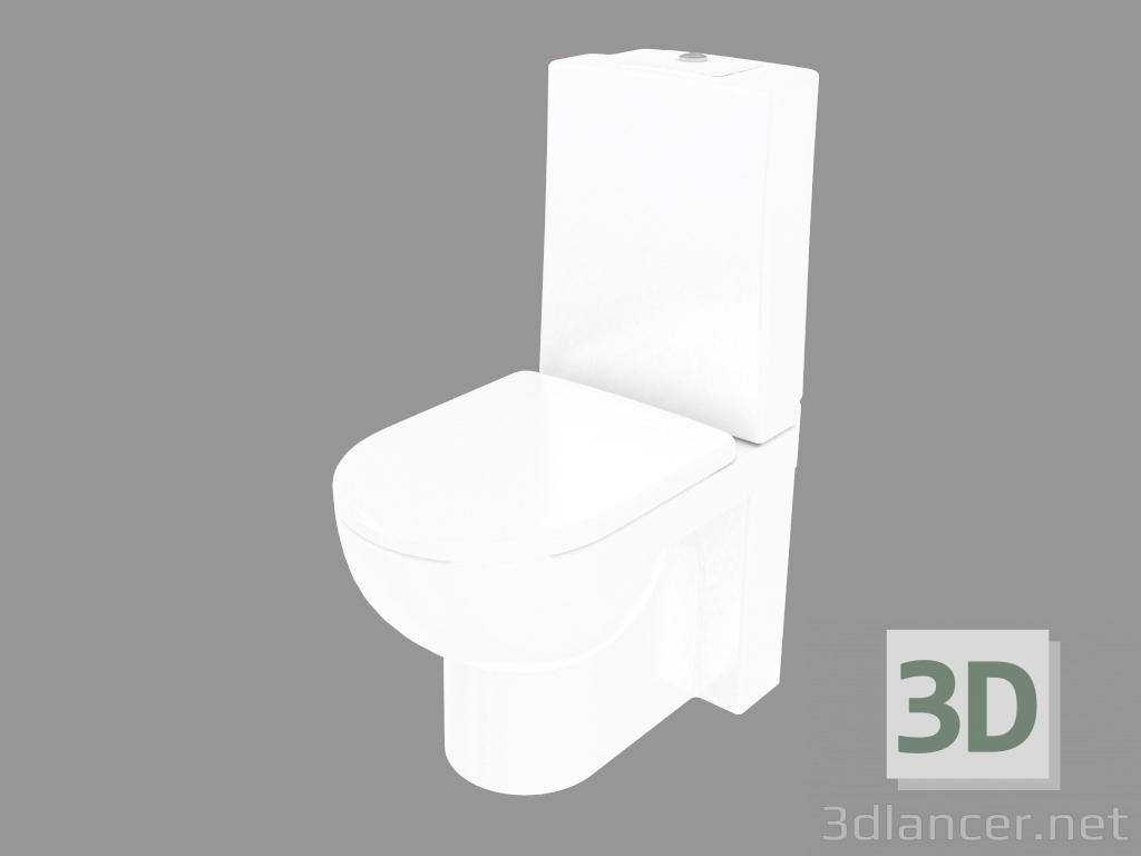 3d model Toilet bowl ARTic 4310 manufacturer GUSTAVSBERG ID 24630