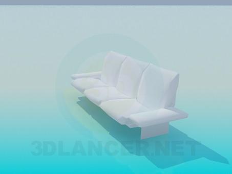 3d model Modern sofa - preview
