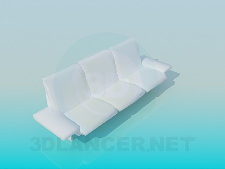 3d модель Сучасний диван – превью