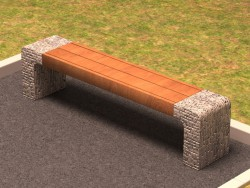 Bench stone