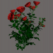 3d model PINK FLOWER - preview