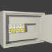 3d Electric shield with automatic protection model buy - render