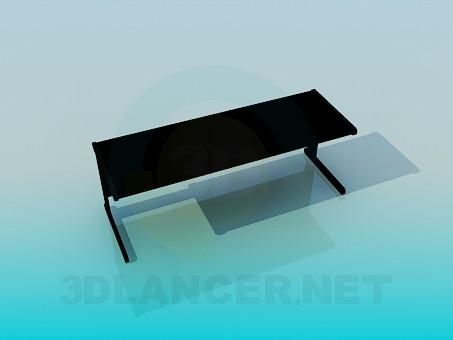 3d модель Стол-парта – превью