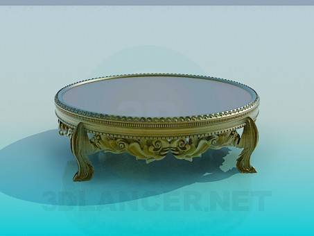 3d model Coffee Table Antique - preview