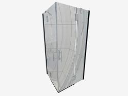 Kabin kare 90 cm Abelia (KTA 043P)