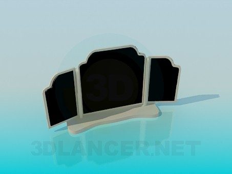 3d modeling Mirror model free download