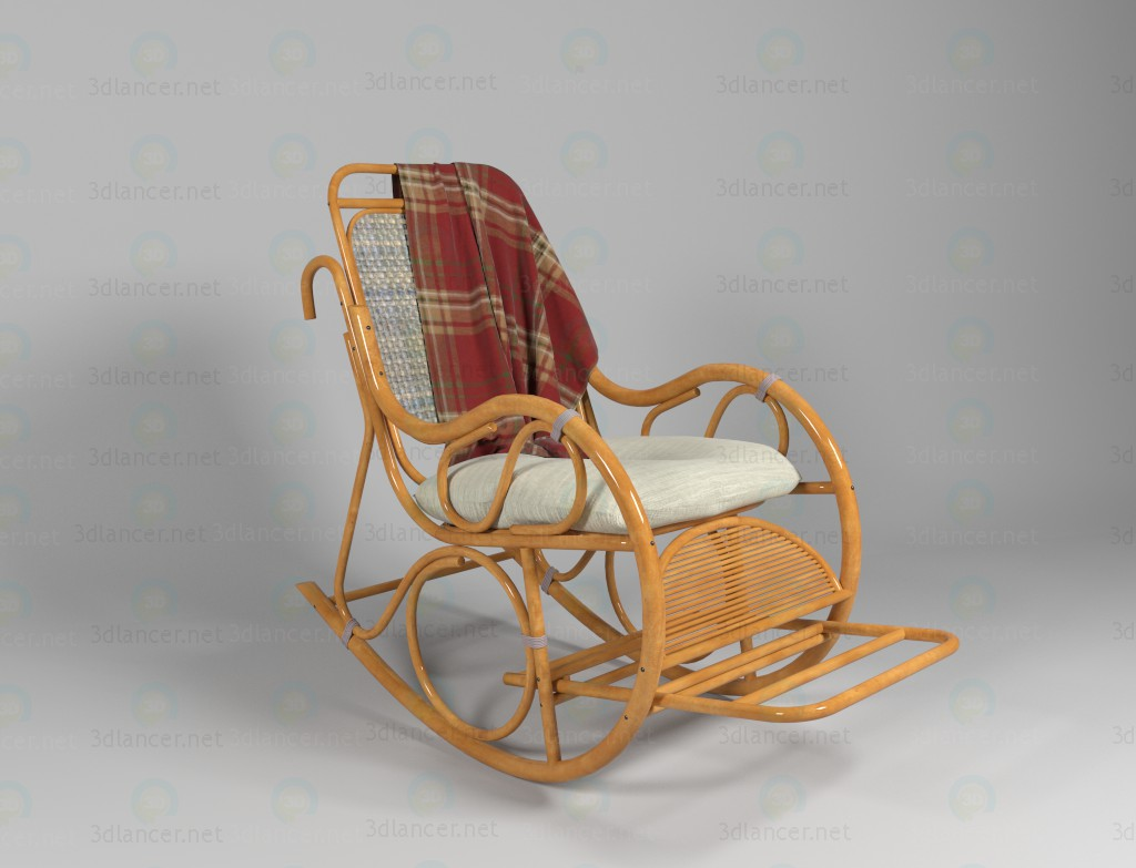 3d крісло качалка модель купити - зображення
